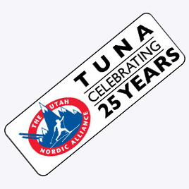 TUNA Anniversary Sticker